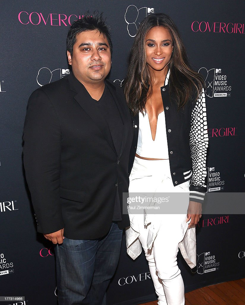 Jay Sethi of COVERGIRL and Ciara attend Easy, Breezy, Brooklyn hosted by Becky G and presented by MTV and COVERGIRL at Music Hall of Williamsburg on August 22, 2013 in the Brooklyn borough of New York City.