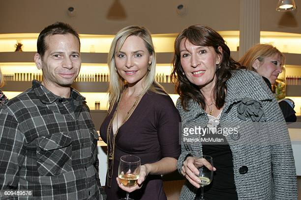 Jay Sternberg Carmindy and SaraJane Cohen attend Launch Party for Arrojo Product at Drom Fragrances International on January 10 2007 in New York City
