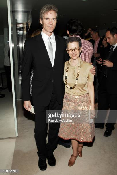 Jay Sugarman and Susy Korb attend PRADA NEW YORKERS FOR CHILDREN Host Cocktails for the NYFC 2010 Fall Gala at Prada Boutique on May 20 2010 in New...