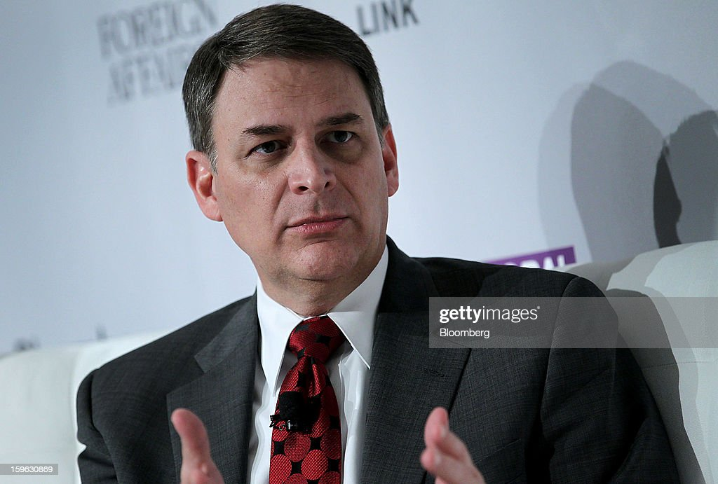 Jay Timmons, president and chief executive officer of the National Association of Manufacturers, speaks at the Bloomberg Global Markets Summit in New York, U.S., on Thursday, Jan. 17, 2013. The Bloomberg Global Markets Summit, co-hosted by Foreign Affairs Magazine and Bloomberg LINK, convenes market makers and market movers as investors map their strategy for the year ahead. Photographer: Jin Lee/Bloomberg via Getty Images