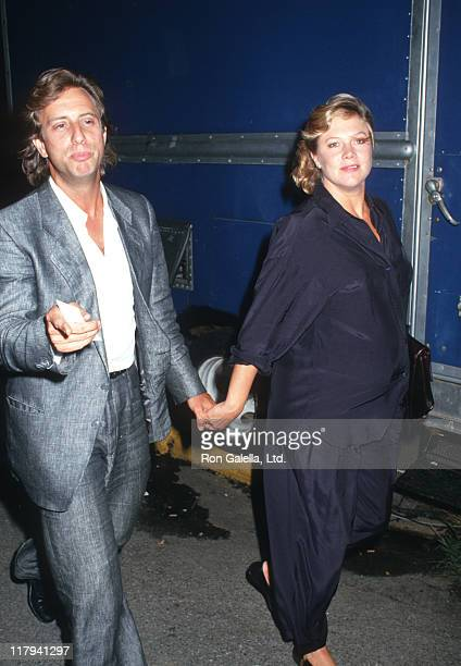 Jay Weiss and Kathleen Turner during US Open at Flushing Weadows in Queens New York United States