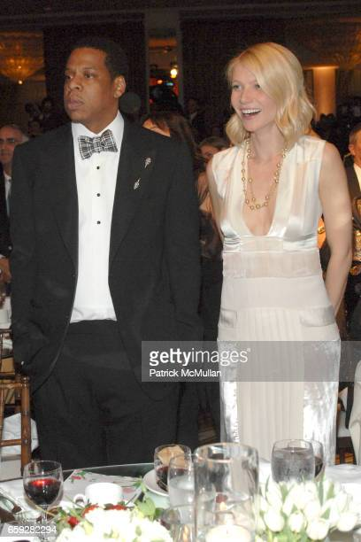 Jay Z and Gwyneth Paltrow attend Unforgettable Evening Benefiting The Entertainment Industry Foundation at Beverly Wilshire Hotel on February 10 2009...