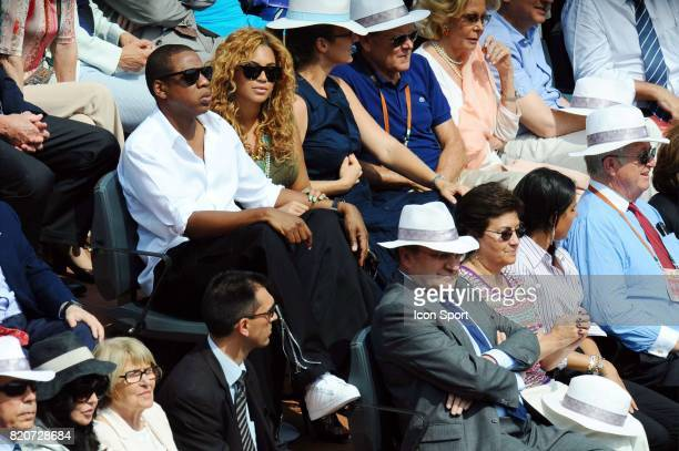 Jay Z / BEYONCE Finale Simple Messieurs Roland Garros 2010