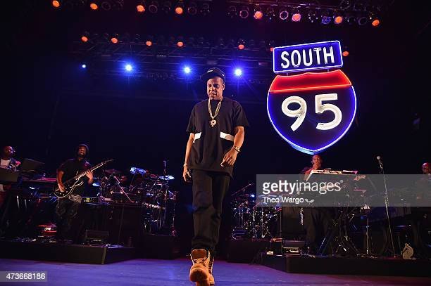 Jay Z performs during TIDAL X JayZ Bsides in NYC on May 16 2015 in New York City