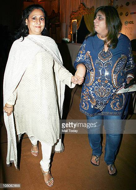 Jaya Bachchan at Day II of the HDIL Couture fashion week in Mumbai on October 7 2010