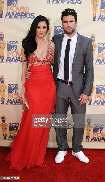 Jayde Nicole and Brody Jenner arriving for the MTV Movie Awards at the Gibson Amphitheatre Universal City Los Angeles The 2009 MTV Movie Awards will...