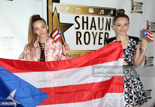 Jayden Bartels and Paris Bravo attend Gente Unidos concert for Hurricane Relief in Puerto Rico at Whisky a Go Go on November 19 2017 in West...