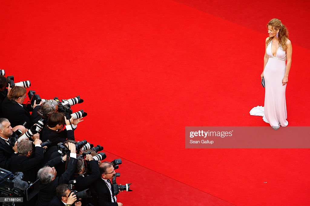 Jaydy Michel attends the 'Up' Premiere at the Palais De Festival during the 62nd International Cannes Film Festival on May 13, 2009 in Cannes, France.