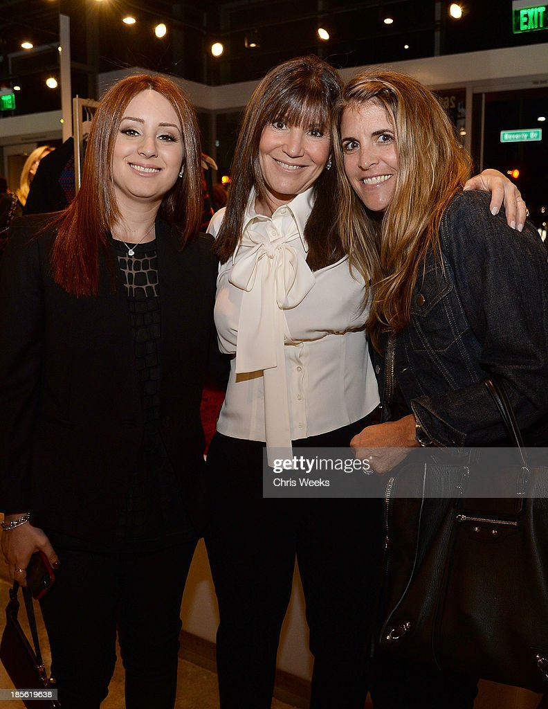 Jaye Azoff, Shelli Azoff and Andrea Stanford attend the Scoop NYC event at Scoop NYC on October 22, 2013 in Beverly Hills, California.