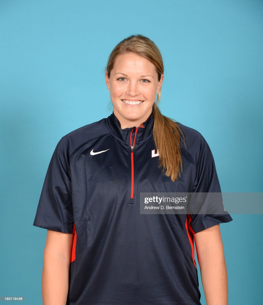 Jayne Appel poses for a head shot during the USA Womens National Team Mini-Camp on October 4, 2013 at the Cox Pavilion in Las Vegas, Nevada.