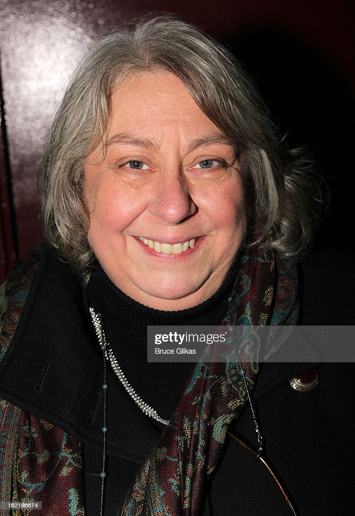 Jayne Houdyshell attends 'Really, Really' on Opening Night at the Lucille Lortel Theatre on February 19, 2013 in New York, United States.