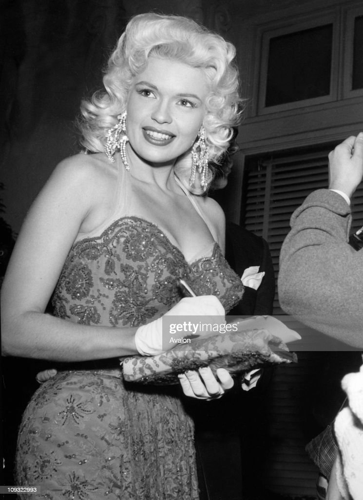 Jayne mansfield hollywood actress 24111958 show more
