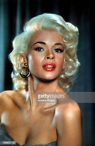 Jayne Mansfield in publicity portrait for the film 'Kiss Them For Me' 1957