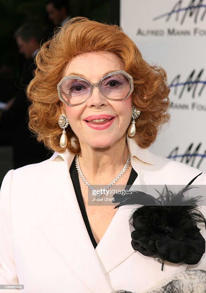 <a gi-track='captionPersonalityLinkClicked' href=/galleries/search?phrase=Jayne+Meadows&family=editorial&specificpeople=93583 ng-click='$event.stopPropagation()'>Jayne Meadows</a> during 3rd Annual Alfred Mann Foundation Innovation and Inspiration Gala Honoring Richard and Nancy Riordan at Mann Estate in Beverly Hills, California, United States.