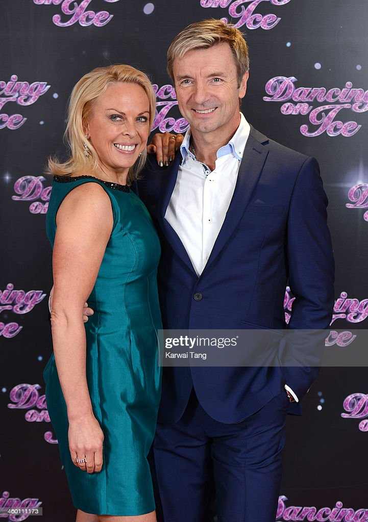 <a gi-track='captionPersonalityLinkClicked' href=/galleries/search?phrase=Jayne+Torvill&family=editorial&specificpeople=242804 ng-click='$event.stopPropagation()'>Jayne Torvill</a> and <a gi-track='captionPersonalityLinkClicked' href=/galleries/search?phrase=Christopher+Dean&family=editorial&specificpeople=228703 ng-click='$event.stopPropagation()'>Christopher Dean</a> attend the series launch photocall for 'Dancing on Ice' held at the London Studios on January 2, 2014 in London, England.
