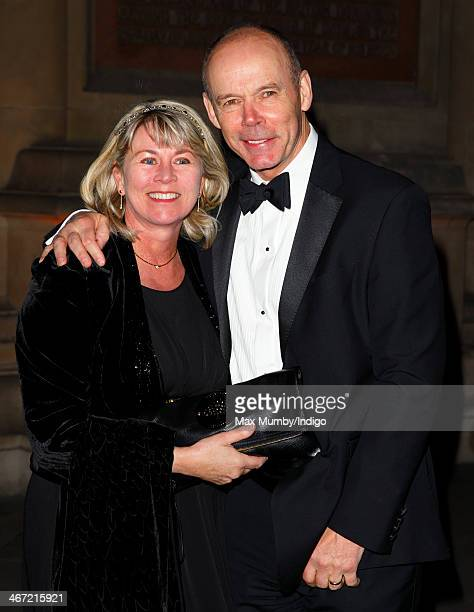 Jayne Williams and Sir Clive Woodward attend the British Asian Trust reception at Victoria Albert Museum on February 5 2014 in London England