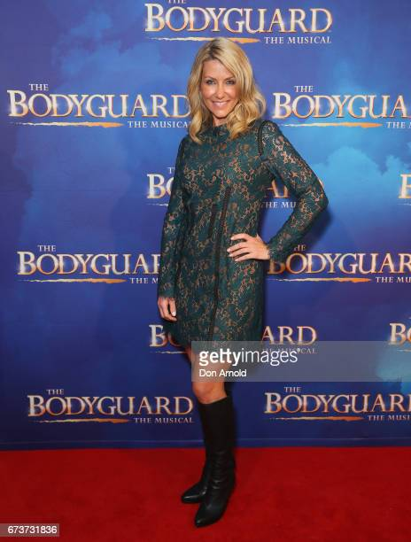 Jaynie Seal arrives ahead of opening night of The Bodyguard The Musical at Lyric Theatre Star City on April 27 2017 in Sydney Australia