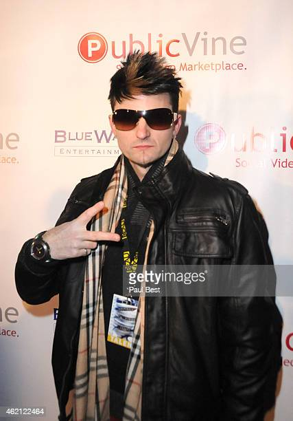 Jaysin Voxx attends 'Rooted In Peace' Screening Hosted By PublicVine At Funn Networks Club 301 2015 Park City on January 24 2015 in Park City Utah
