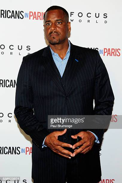 Jayson Williams attends New York Special Red Carpet Screening of Focus World's PUERTO RICANS IN PARIS at Landmark Sunshine on June 6 2016 in New York...
