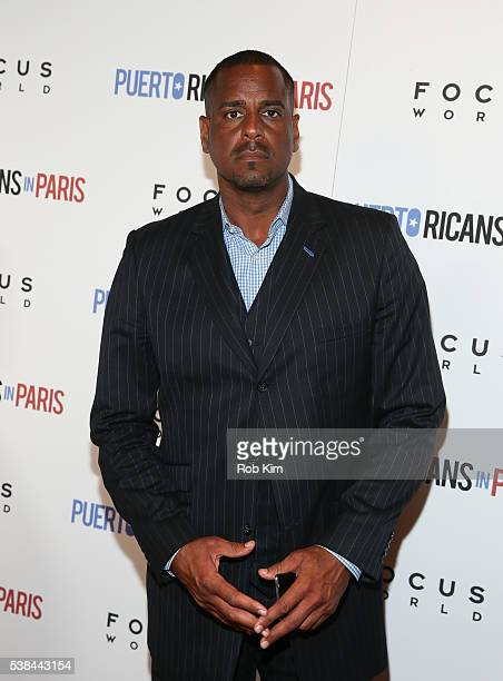 Jayson Williams attends the New York Screening of 'Puerto Ricans In Paris' at Landmark's Sunshine Cinema on June 6 2016 in New York City