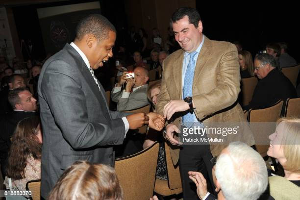 JayZ and Alexander Vileshin attend AUDEMARS PIGUET 'Time To Give' Celebrity Watch Auction to Benefit Broadway Cares / Equity Fights AIDS Auction at...