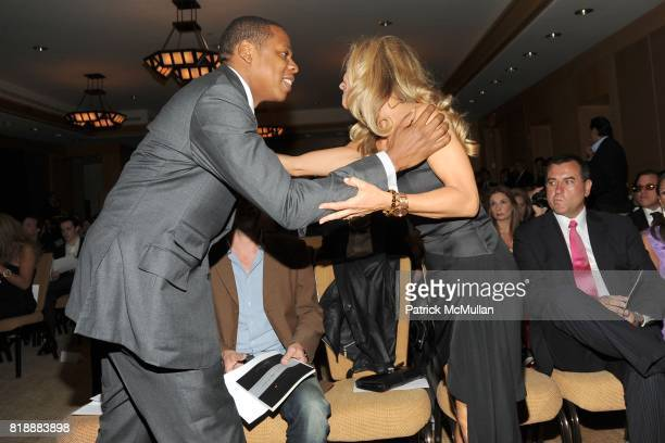 JayZ and Alice Bennahmias attend AUDEMARS PIGUET 'Time To Give' Celebrity Watch Auction to Benefit Broadway Cares / Equity Fights AIDS Auction at...