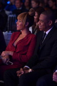 JayZ and Beyonce attend the 2012 Sports Illustrated Sportsman of the Year award presentation at Espace on December 5 2012 in New York City