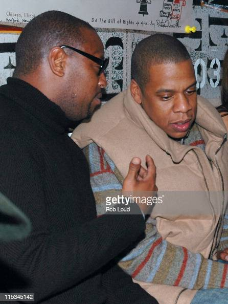 JayZ and guest during Joonbug's 4th Annual Halloween Masquerade Ball Hosted by the Gastineau Girls at Capitale in New York City New York United States