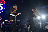 JayZ and Memphis Bleek perform during TIDAL X JayZ Bsides in NYC on May 17 2015 in New York City