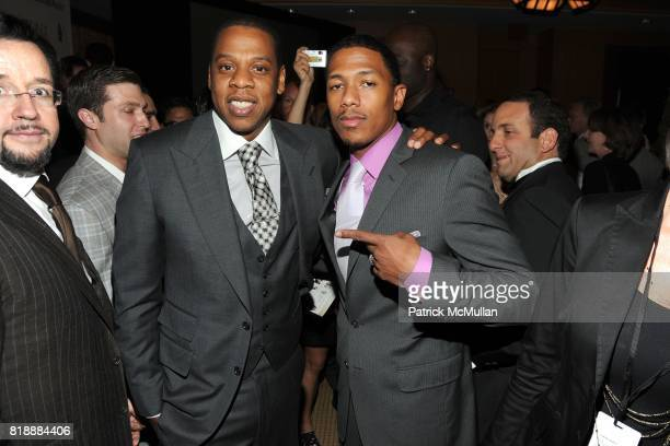 JayZ and Nick Cannon attend AUDEMARS PIGUET 'Time To Give' Celebrity Watch Auction to Benefit Broadway Cares / Equity Fights AIDS Auction at Fours...