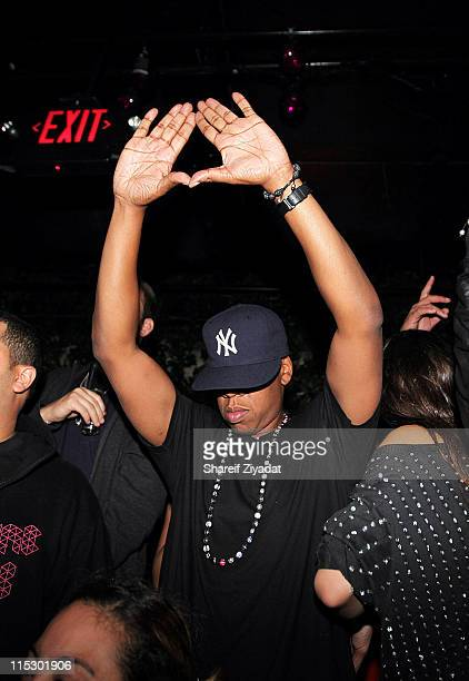 JayZ attends at M2 Ultra Lounge on September 25 2009 in New York City