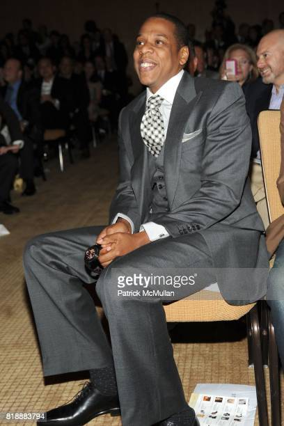 JayZ attends AUDEMARS PIGUET 'Time To Give' Celebrity Watch Auction to Benefit Broadway Cares / Equity Fights AIDS Auction at Fours Seasons Hotel on...
