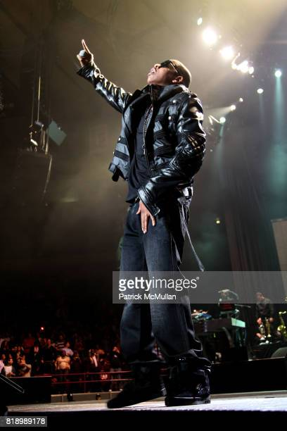 JayZ attends JAYZ BP3 TOUR 2010 at Madison Square Garden on March 2 2010 in New York City
