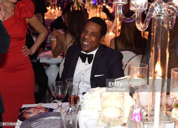 JayZ attends Rihanna's 3rd Annual Diamond Ball Benefitting The Clara Lionel Foundation at Cipriani Wall Street on September 14 2017 in New York City