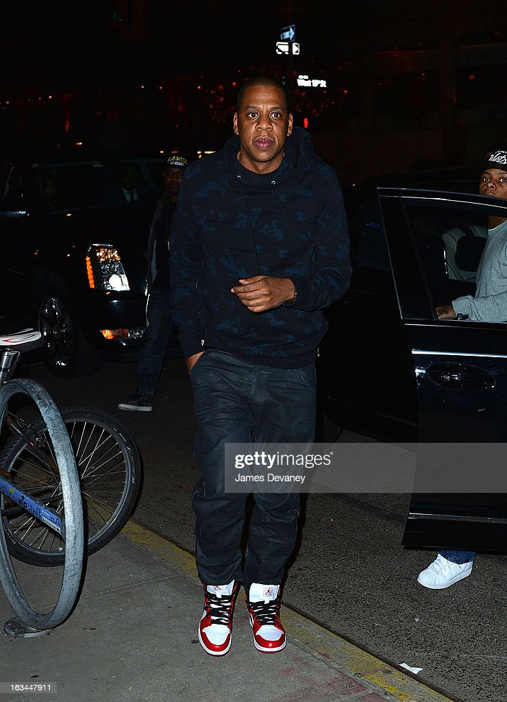 Jay-Z attends SNL after party at Buddakan on March 10, 2013 in New York City.