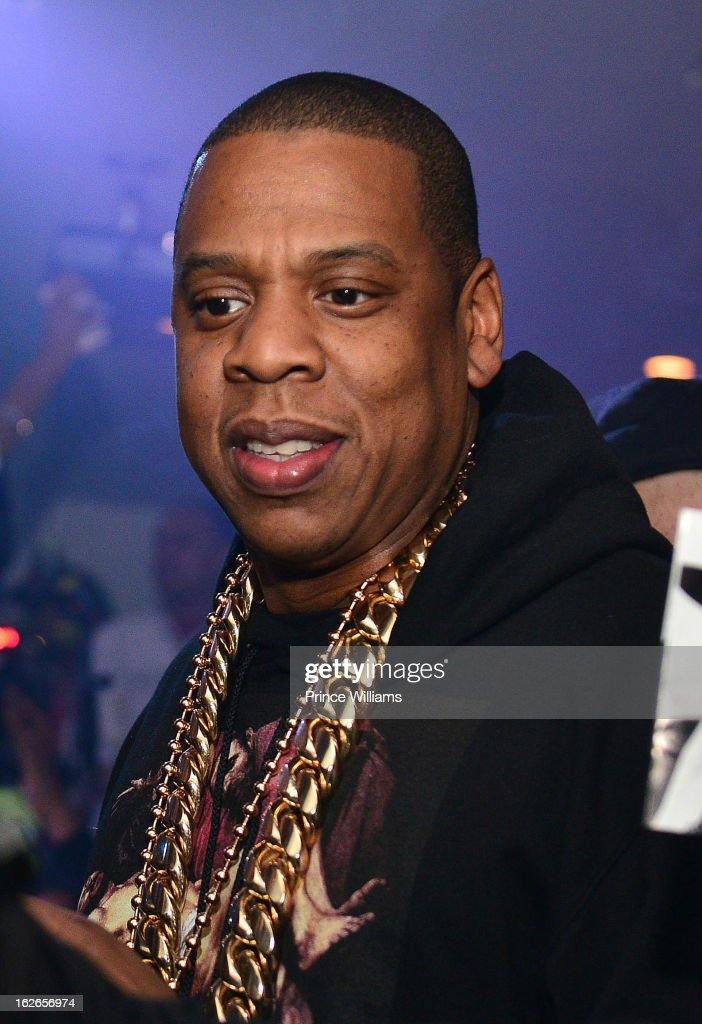 Jay-Z attends the So So Def anniversary party hosted by Jay Z at Compound on February 23, 2013 in Atlanta, Georgia.