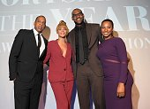 JayZ Beyonce 2012 Sportsman of the Year LeBron James and Savannah attend the 2012 Sports Illustrated Sportsman of the Year award presentation at...