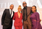 JayZ Beyonce 2012 Sportsman of the Year LeBron James and Savannah Brinson attend the 2012 Sports Illustrated Sportsman of the Year award presentation...