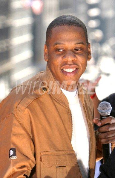 Jay Z during Jay Z...