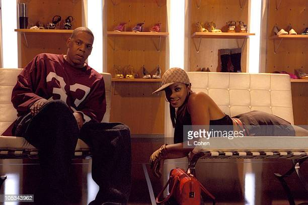 JayZ during JayZ Video Shoot September 2001 in Los Angeles California United States
