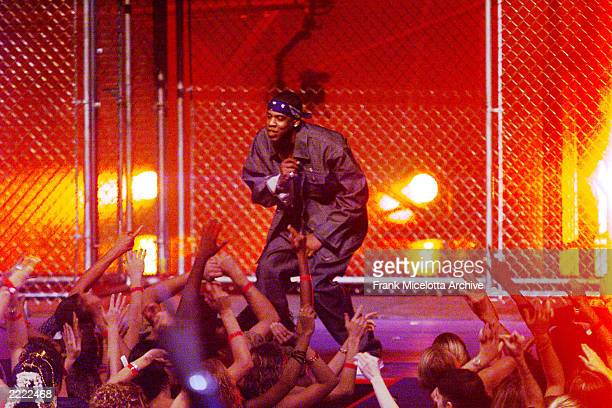 JayZ performing during the 1999 MTV Music Video Awards held at the Metropolitan Opera House Lincoln Center in New York City on September 9 1999