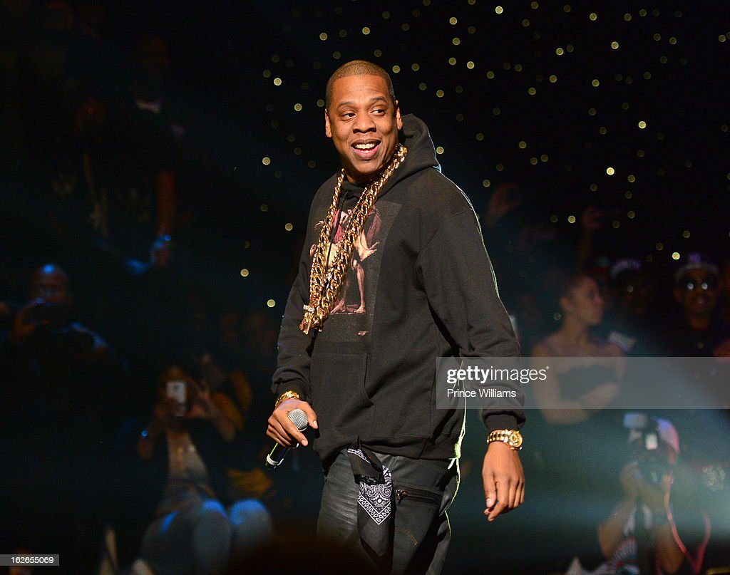 <a gi-track='captionPersonalityLinkClicked' href=/galleries/search?phrase=Jay-Z&family=editorial&specificpeople=201664 ng-click='$event.stopPropagation()'>Jay-Z</a> performs at the So So Def 20th anniversary concert at the Fox Theater on February 23, 2013 in Atlanta, Georgia.