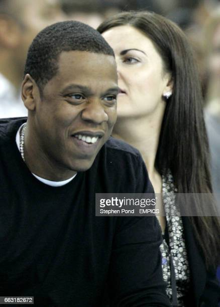 JayZ watches the action