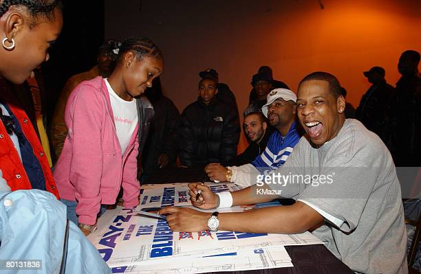 JayZ with Team Roc kids