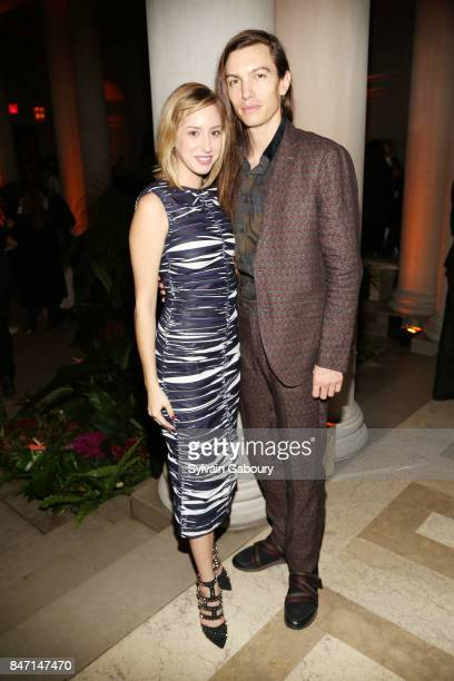 Jazmin Grace Grimaldi and Ian Mellencamp attend the premiere of 'Manolo The Boy Who Made Shoes for Lizards' hosted by Manolo Blahnik with The Cinema...