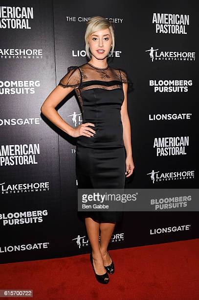Jazmin Grace Grimaldi attends a screening of 'American Pastoral' at the Museum of Modern Art on October 19 2016 in New York City