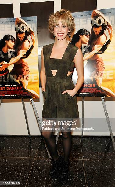 Jazmin Grace Grimaldi attends a special screening of Relativity Studio's 'Desert Dancer' at Museum of Modern Art on April 7 2015 in New York City