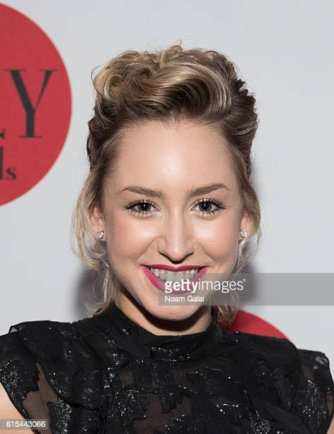 Jazmin Grace Grimaldi attends the 4th annual Lilly Awards Broadway Cabaret at The Cutting Room on October 17 2016 in New York City