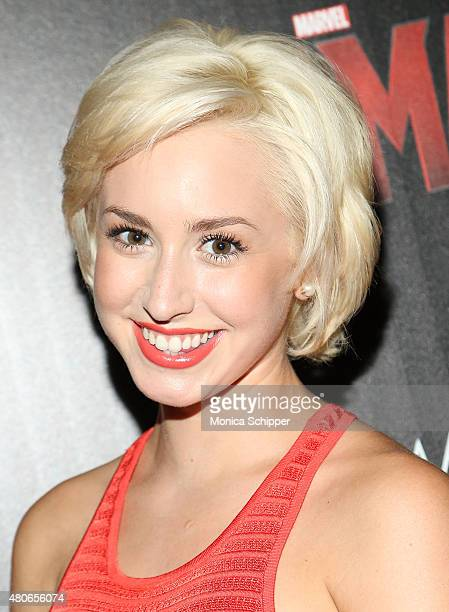 Jazmin Grace Grimaldi attends The Cinema Society And Audi Host A Screening Of Marvel's 'AntMan' at SVA Theatre on July 13 2015 in New York City