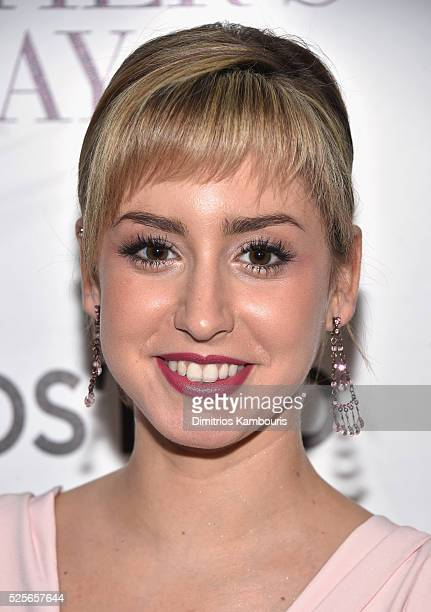 Jazmin Grace Grimaldi attends The Cinema Society with Lands' End screening of Open Road Films' 'Mother's Day' at Metrograph on April 28 2016 in New...